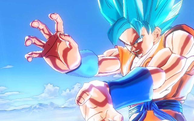 《龙珠:超宇宙》蓝发悟空
