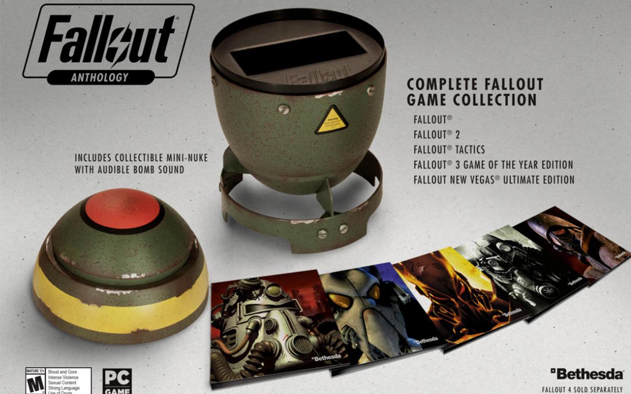 《輻射》將發售整個系列超級核彈合集