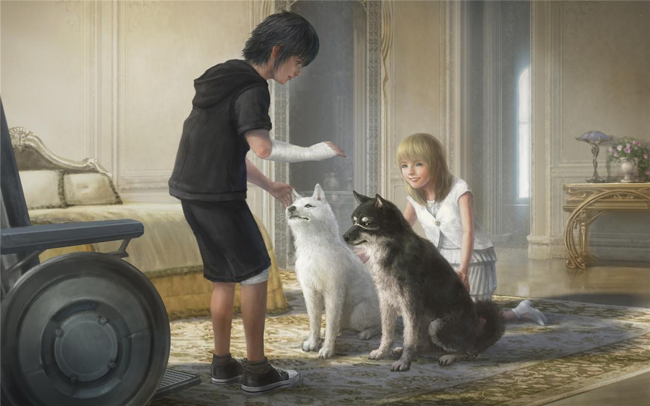 《最终幻想15》人气角色票选结果公布 王子公主勇夺第图片