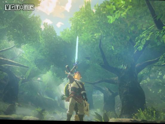 一位国内游戏制作人这样向《塞尔达传说:荒野之息》致以敬意    林克图片