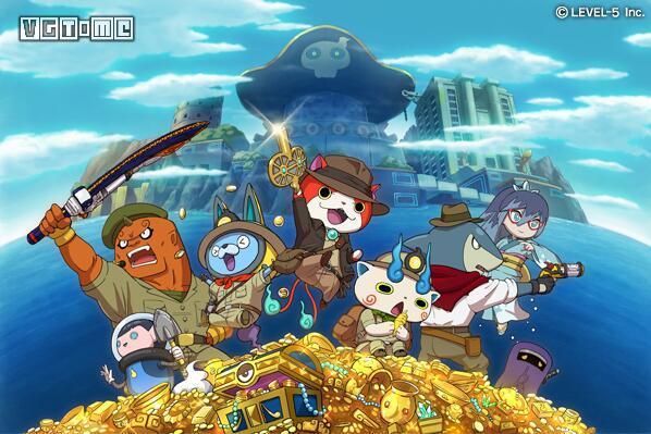 《妖怪手表破坏者2》正式公布 今冬登陆3DS