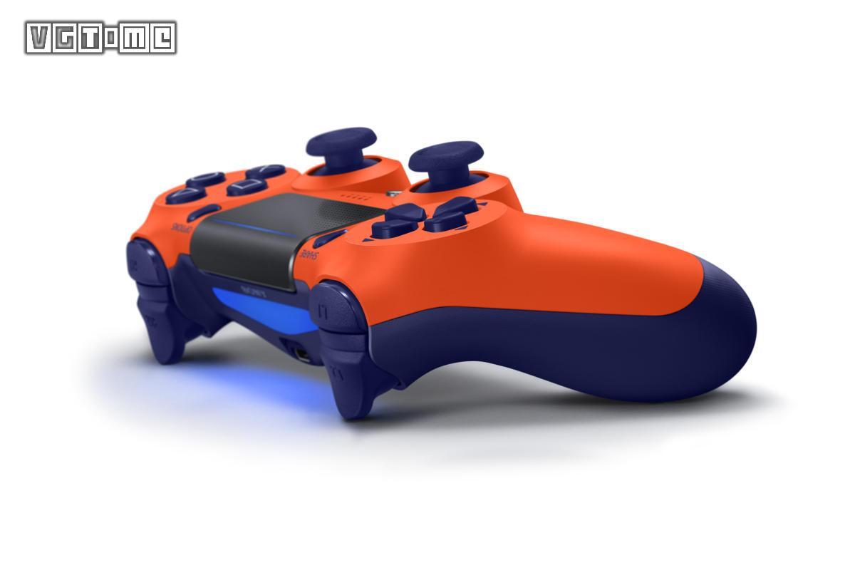 全新橙色PS4手柄即将在大陆推出