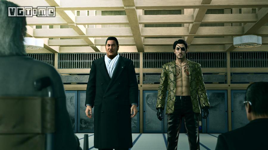 在《如龙0》中与真岛吾朗上演了感情戏的牧村实也将在《如龙 极2》