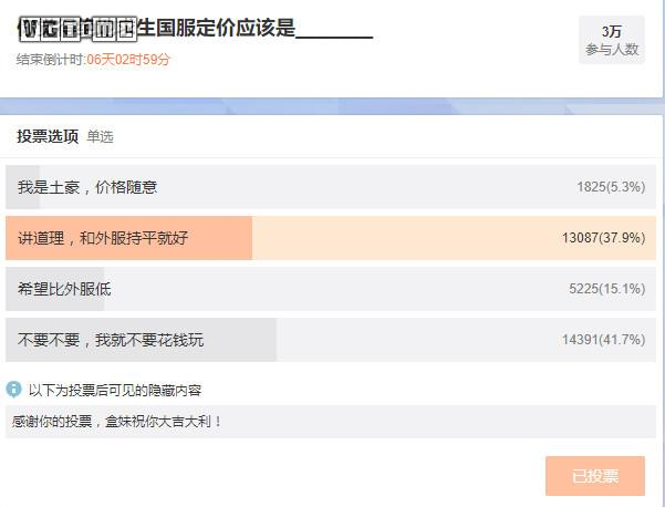 Tencent charter service to survive the jedi pricing voting nearly half the player wants to be free