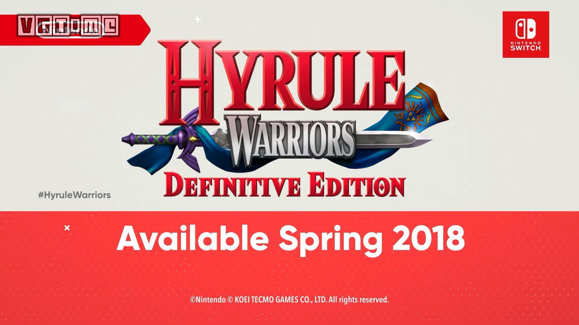 Switch版《塞尔达无双》正式公布 含全部DLC