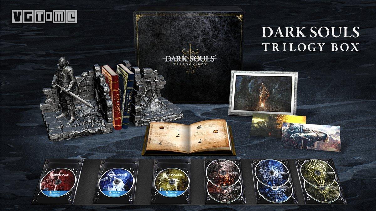 《黑暗之魂》三部曲合集公布 内容丰富售价高
