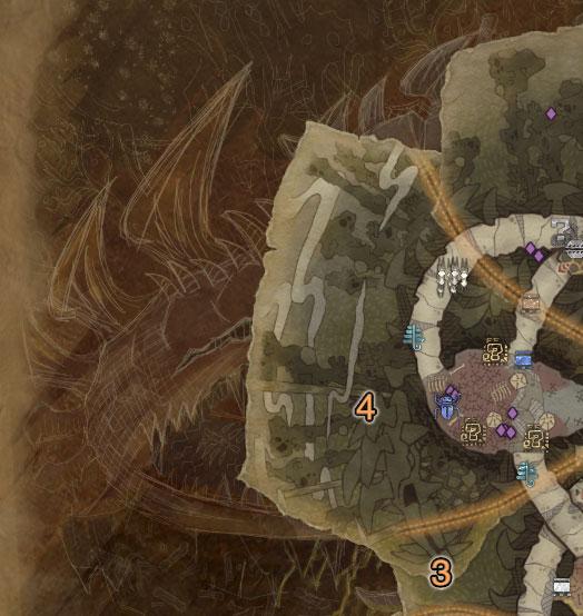 《怪物猎人 世界》瘴气之谷中的巨大尸骸,也许是死去的蛇王龙