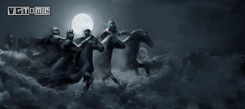 昆特牌人物揭秘:幽魂骑兵之族 - 狂猎
