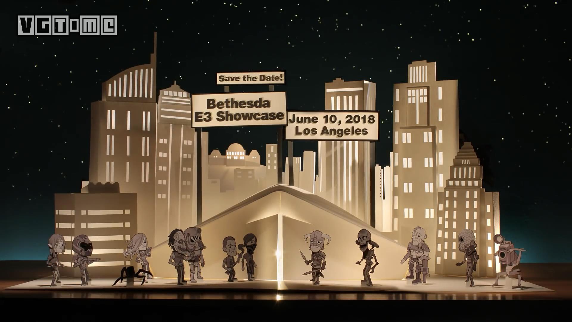 Bethesda E3 2018展前发布会时间确认