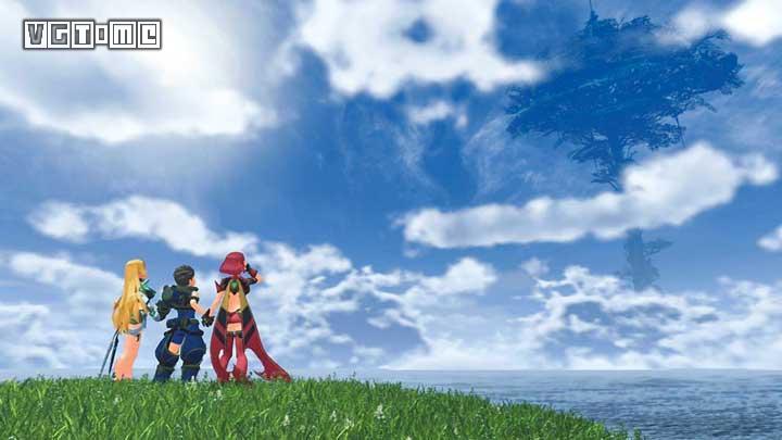 《异度神剑2》通关后标题画面有彩蛋 谁和谁在一起了
