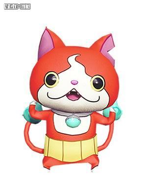 决赛参与奖励:《妖怪手表》系列的地缚猫和狛犬布偶装.