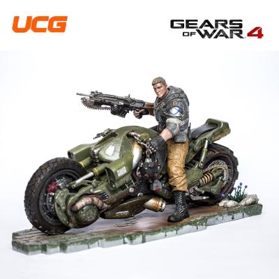 戰爭機器4典藏版 JD Fenix騎乘摩托版模型