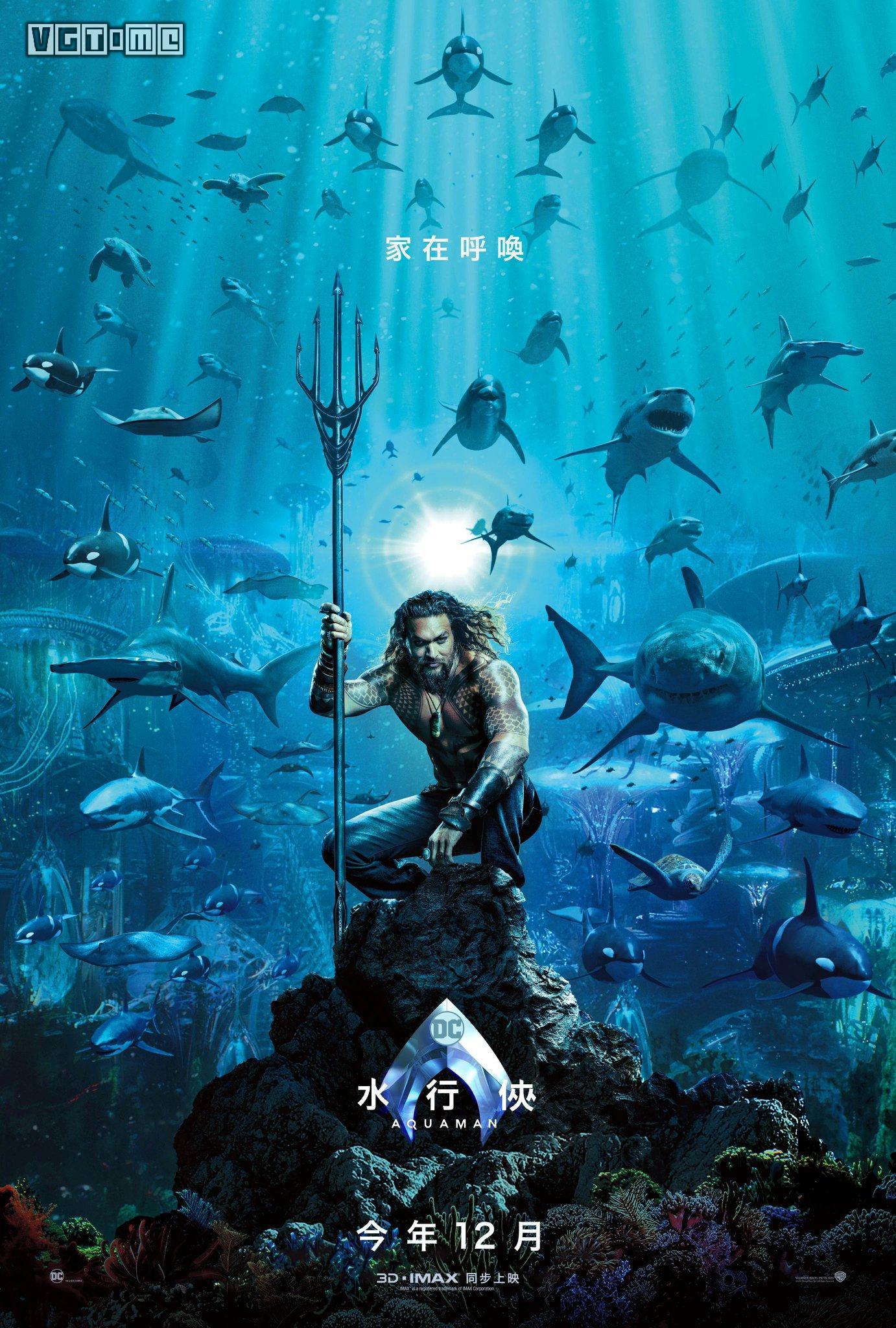 电影宇宙中《正义联盟》主要成员之一,海王的诞生,成长,以及重返海底