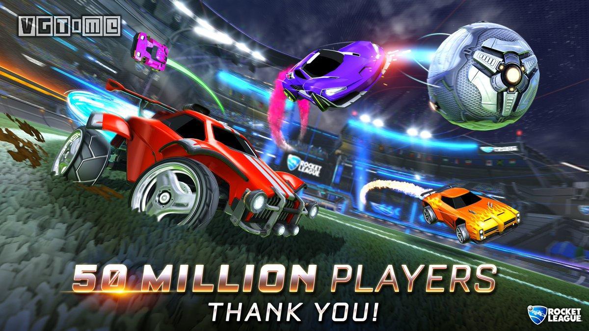 更上一层楼 《火箭联盟》全球玩家数突破5000万