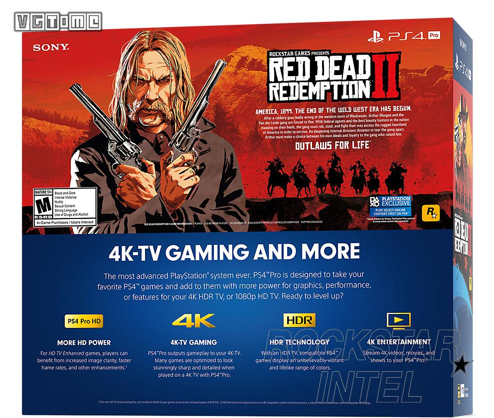 The PS4 edition of the wilderness dead redemption 2 need 105 gb hard drive space
