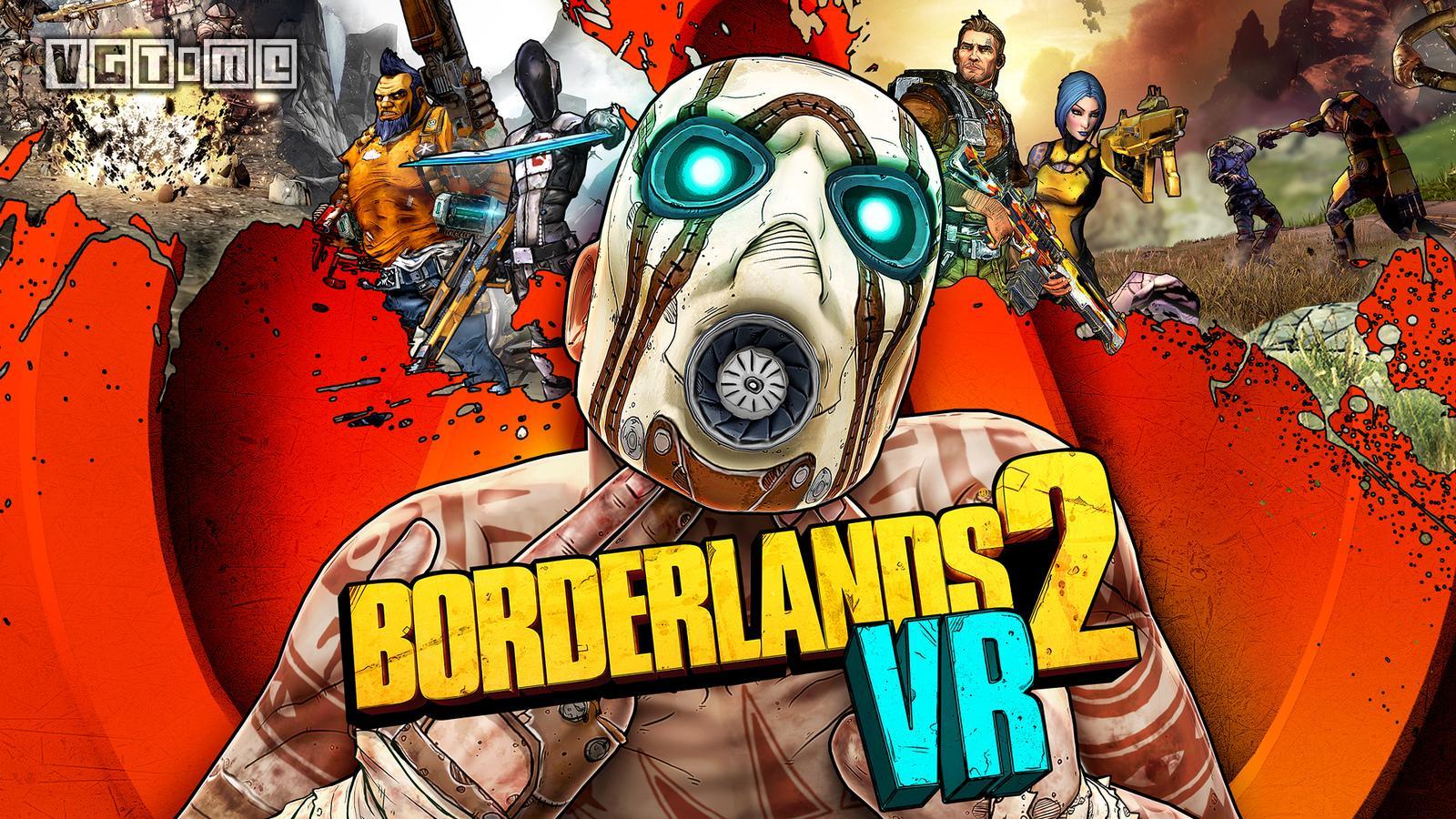 2K宣布《无主之地2 VR》将于12月登陆PS4