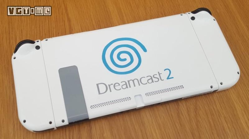 国外玩家用Switch自制了一台「世嘉DC2」