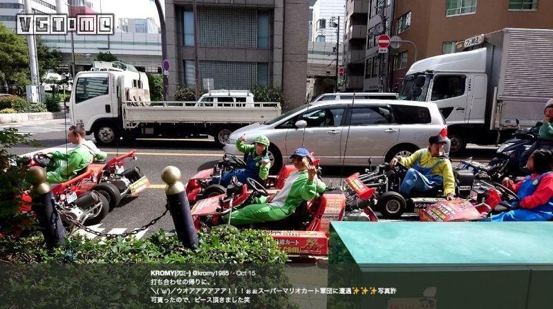 虽然输了官司,但东京街头的马力欧赛车似乎并没有停下来