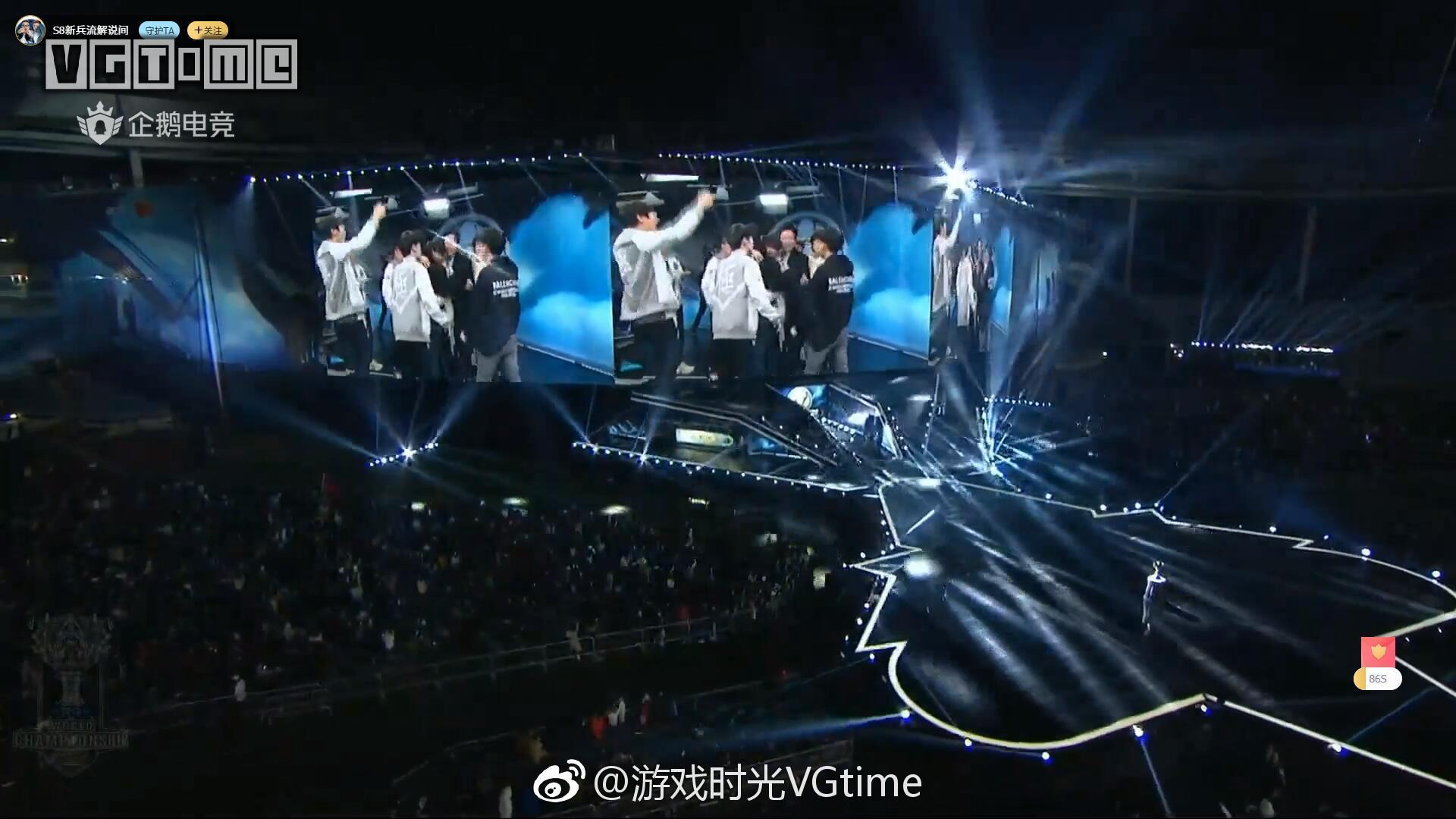 IG战队拿下《英雄联盟》S8全球总决赛冠军!!!