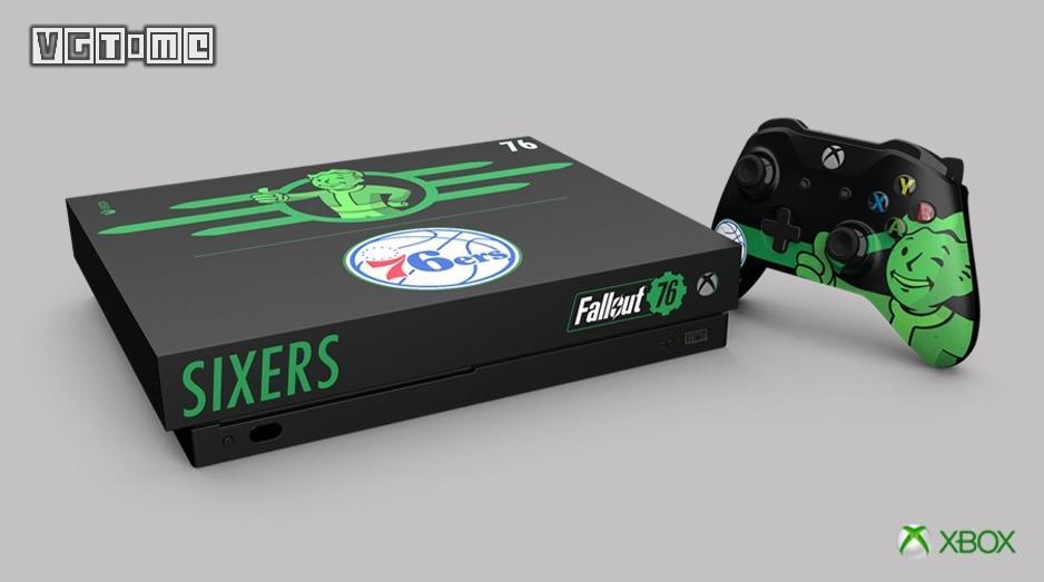 《辐射76》将推出「费城76人」联动款Xbox One X