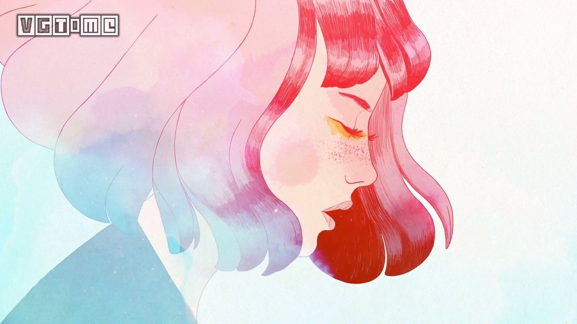水彩风解谜游戏《Gris》将于12月13日发售