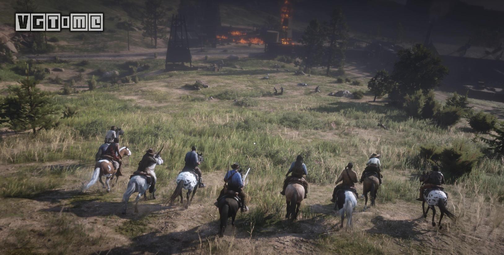 Take-Two:《荒野大镖客Online》预计在11月底上线