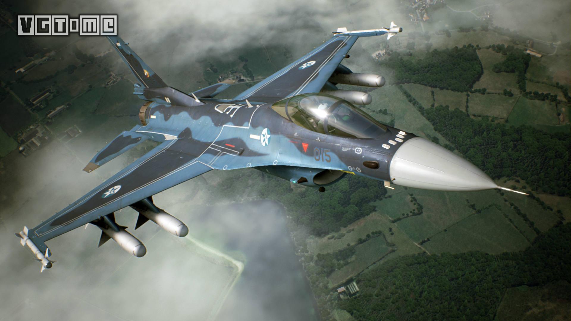 《皇牌空战7》中文版1月17日发售 首批限定版内容公开