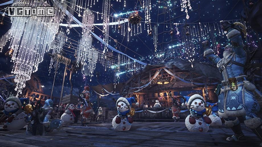《怪物猎人 世界》冬日星辰祭 「闪耀之宴」活动11月30日上线