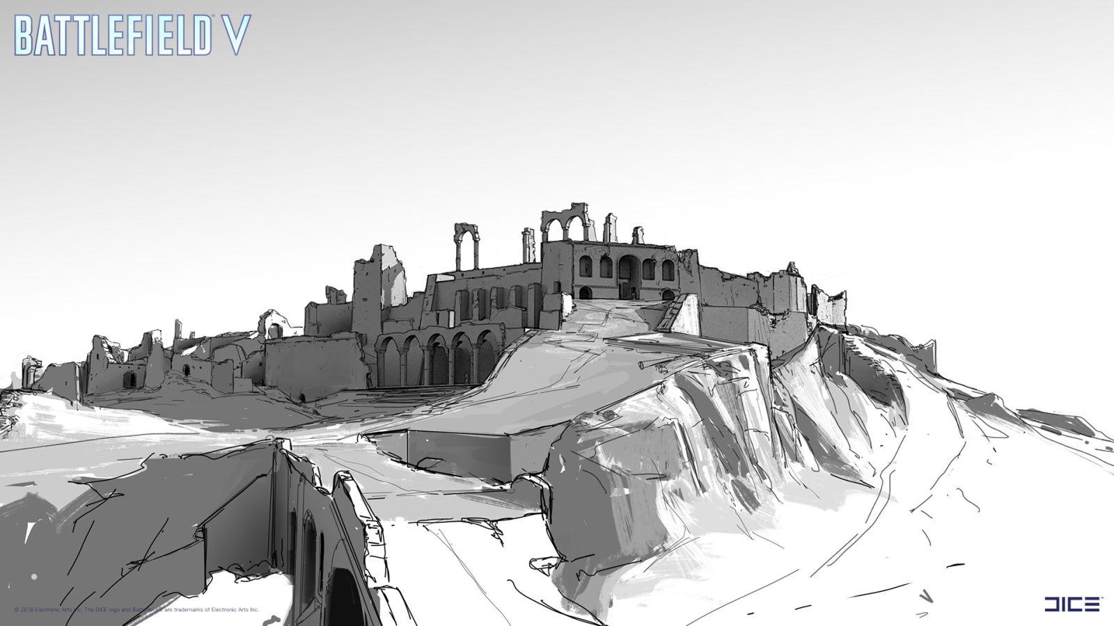 二战下的废墟与挣扎《战地5》艺术图欣赏