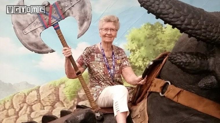 数千名玩家请愿,希望这位82岁奶奶能加入《上古卷轴6》
