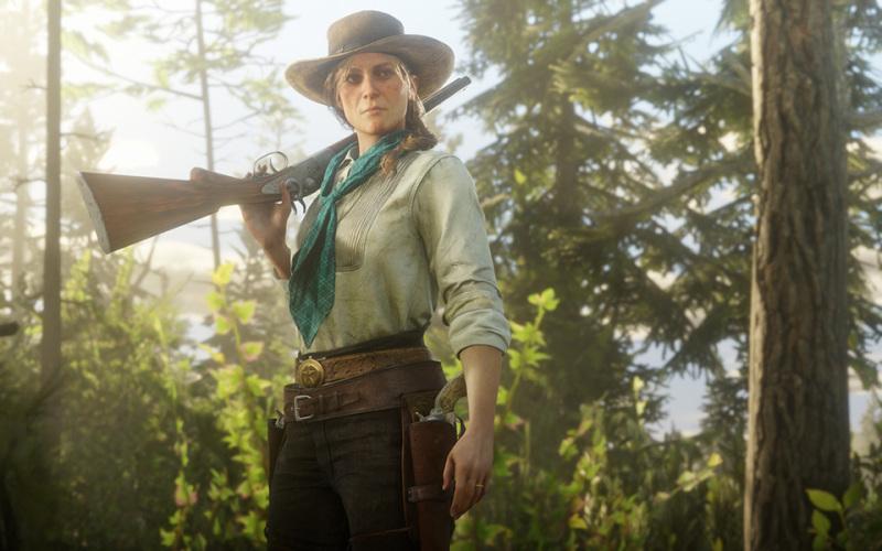 19世纪的西部女性,真有《荒野大镖客2》中那么生猛吗?