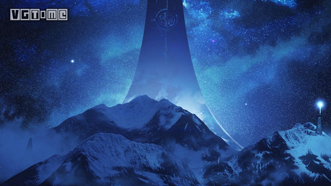 《光环 无限》最新概念艺术图放出 星河、雪山与巨塔