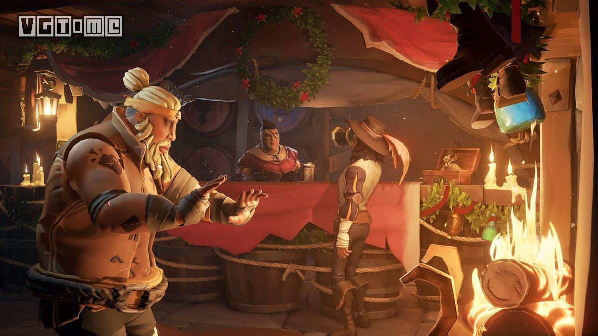《盗贼之海》1.4.1节日性更新 迎来海盗狂欢节