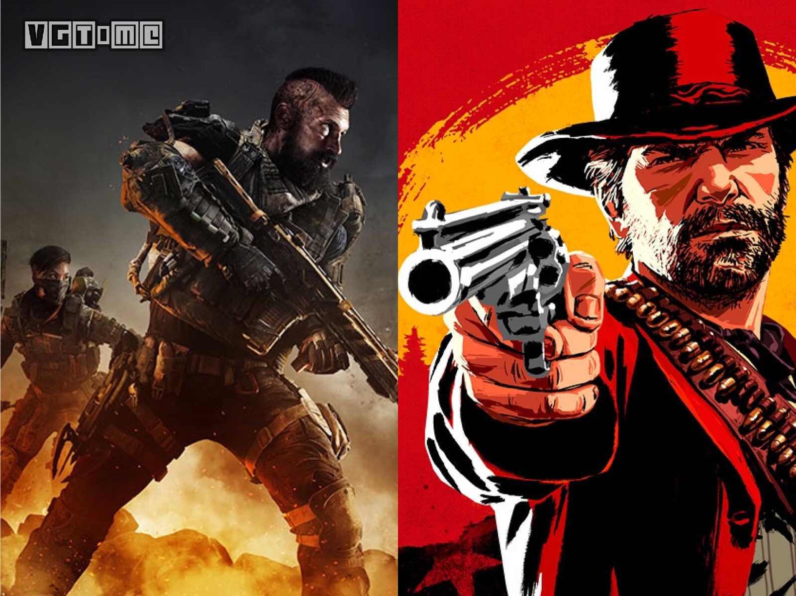 《大镖客2》《黑色行动4》双雄称霸11月PSN欧美服下载榜