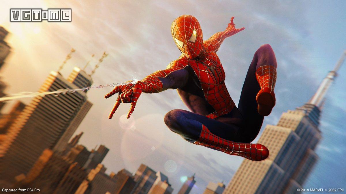 特别的圣诞礼物 《蜘蛛侠》三部曲战衣加入《漫威蜘蛛侠》