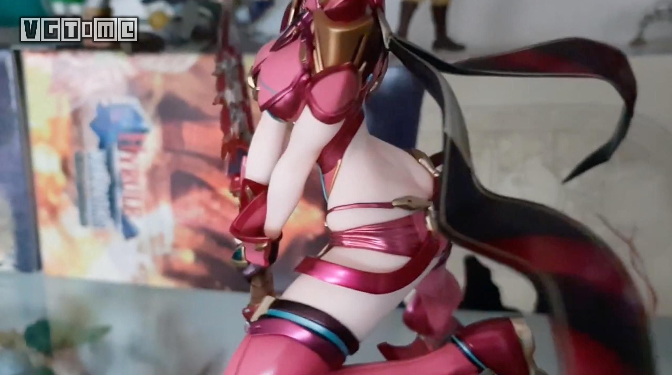 《异度神剑2》焰视频开箱手办:您的「吼姆拉」画虎视1频图片