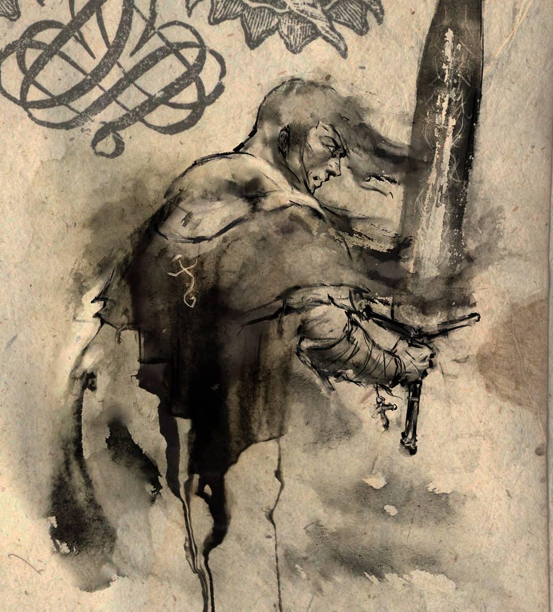 魂与墨的交织!来看看这些艺术家创作的魂系列美图吧