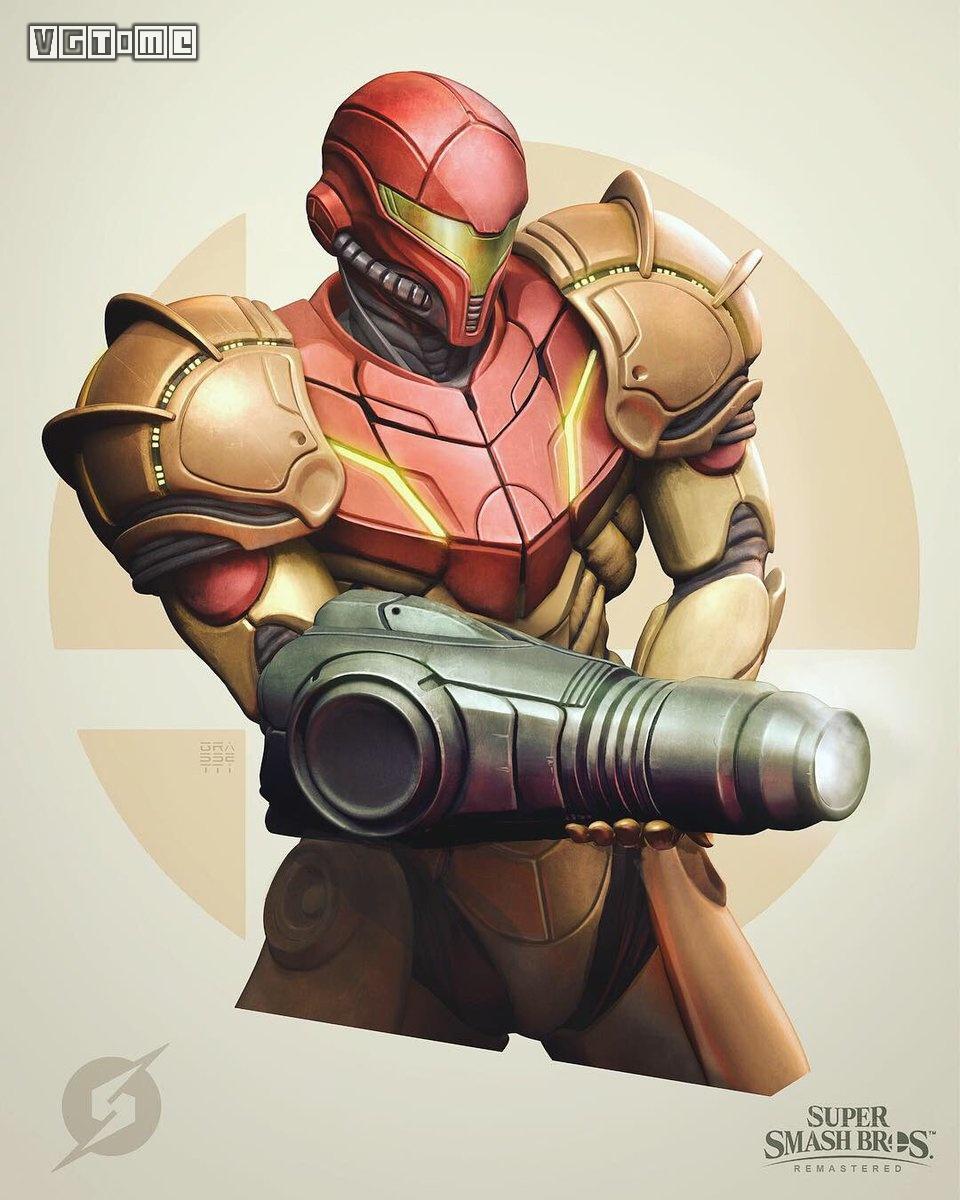 《战神》艺术师在重制《任天堂明星大乱斗 特别版》的角色