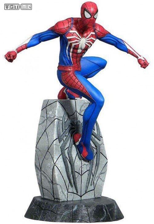 "PS4《漫威蜘蛛侠》将于今年5月推出""白蜘蛛""雕像"