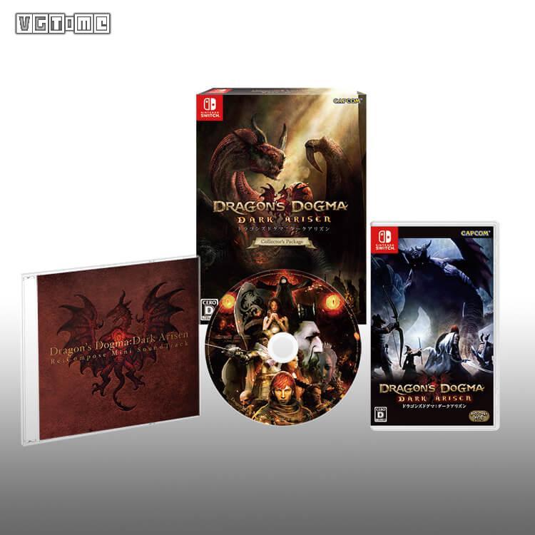 Switch版《龙之信条 黑暗觉者》将包含中文 实体收藏版公布