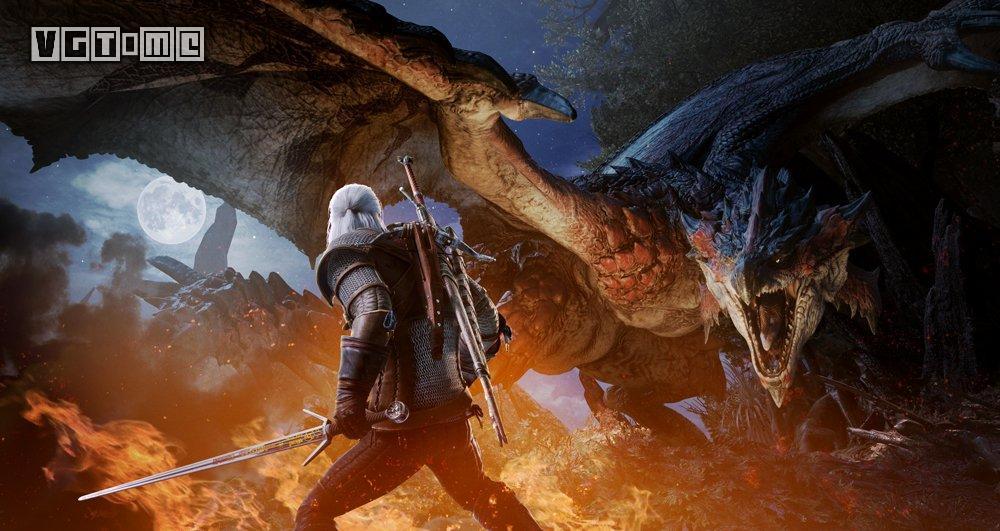 《怪物猎人 世界》和《巫师3》联动将于2月8日推出