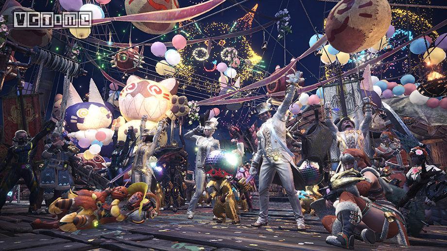 《怪物猎人 世界》 「感谢之宴」确定于1月26日举行,新任务太恶趣味