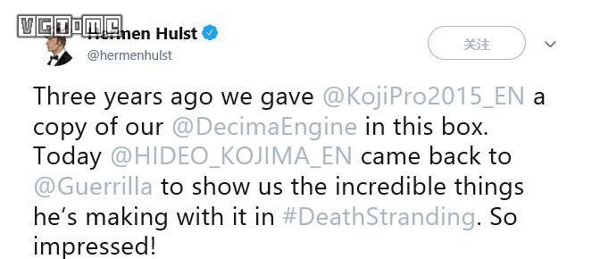 三年后,小岛秀夫再次拜访《地平线 零之曙光》开发商