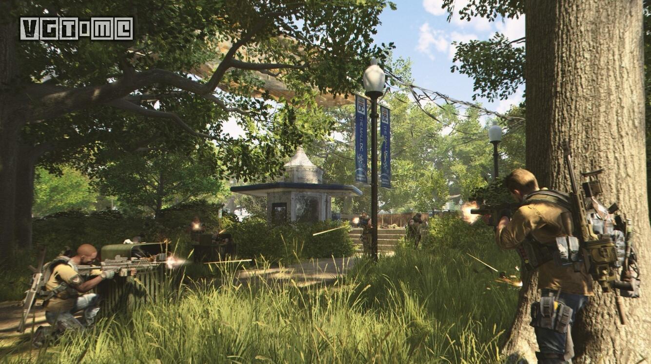 《全境封锁2》故事流程约40小时 可组队进行游戏