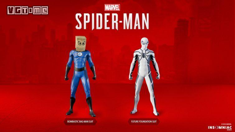 联动《神奇四侠》!两套新服装现已加入《漫威蜘蛛侠》