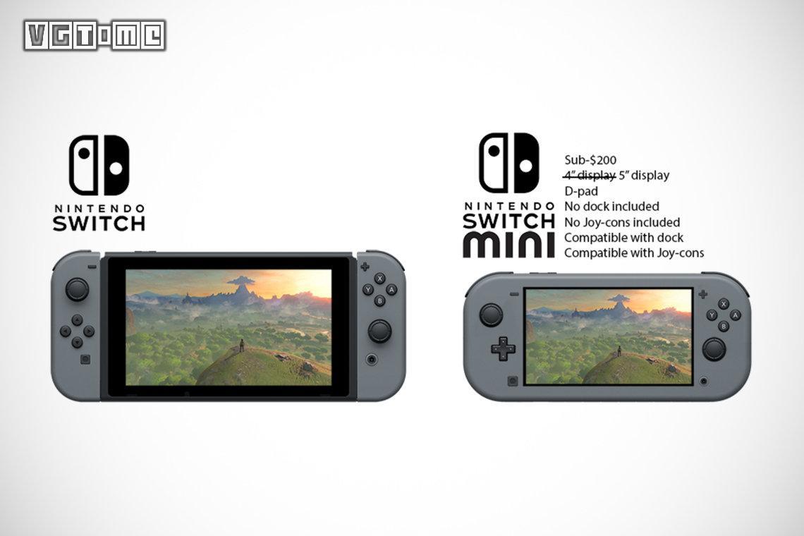 日经传闻:任天堂年内将推出轻量版Switch