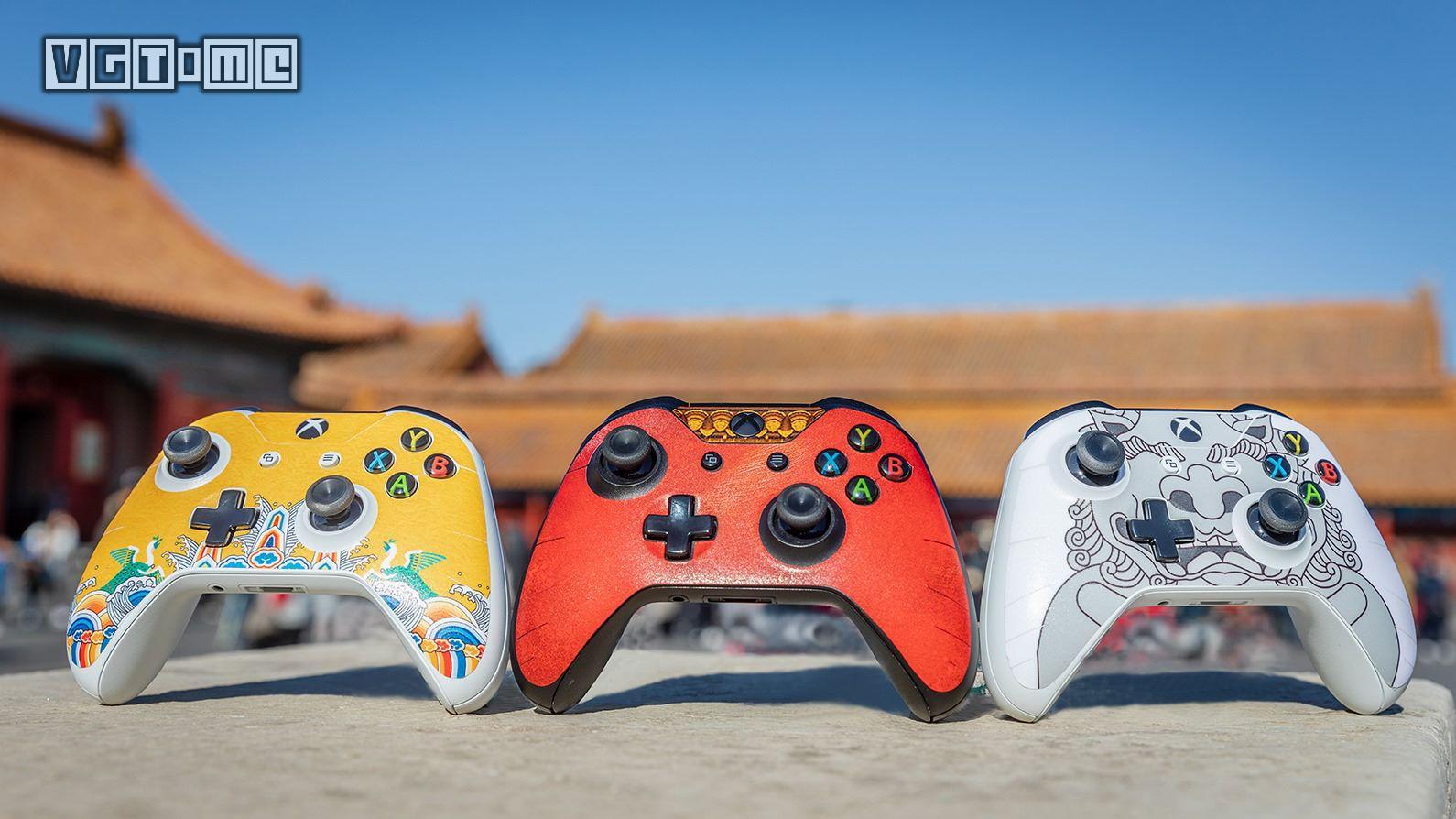 春节将至,试试用这三款传统中国元素装饰自己的Xbox手柄