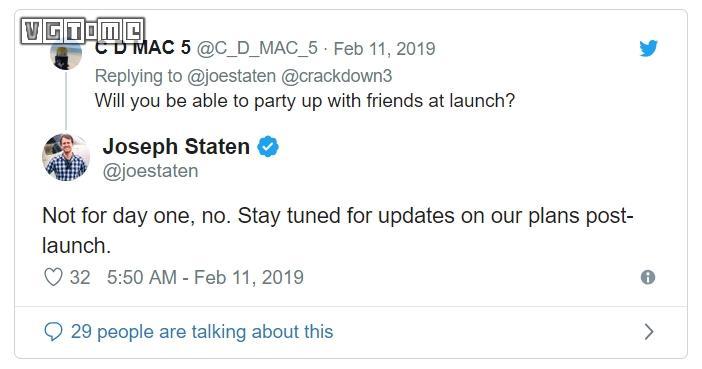 《除暴战警3》发售时玩家无法在多人模式与好友开黑
