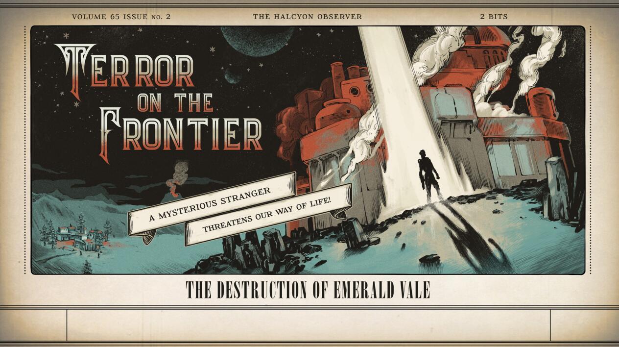 黑曜石工作室大佬图解《外部世界》游戏设定