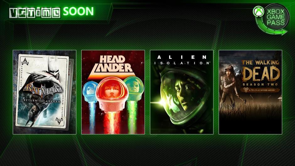 2月XGP新增游戏:《异形:隔离》《行尸走肉 第二季》